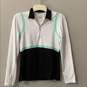 EP PRO TECH Long Sleeve Quarter Zip Size Small